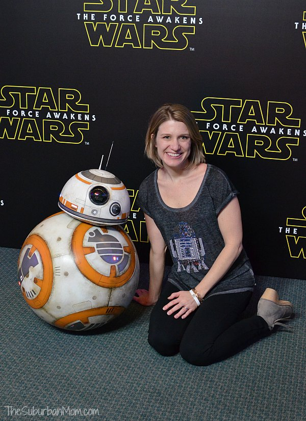 BB8 Star Wars Press Conference