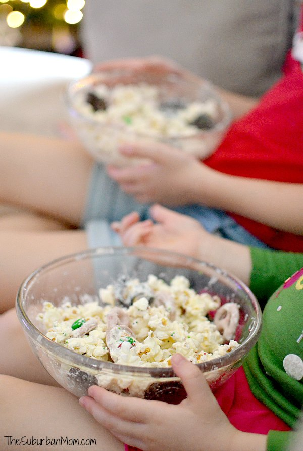 Chocolate Popcorn Mix