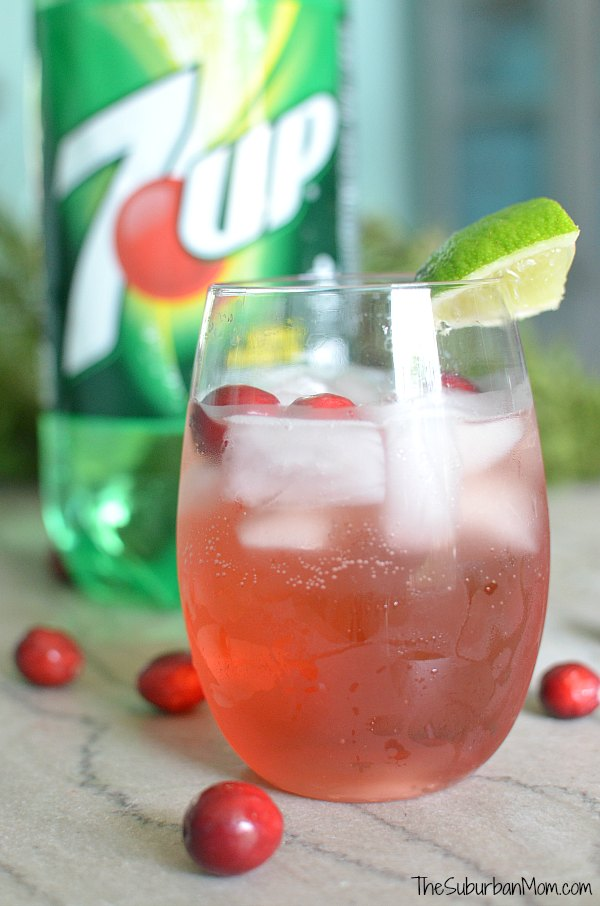 7Up Cranberry Spritzer