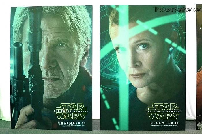 Han Solo Princess Leia Star Wars The Force Awakens