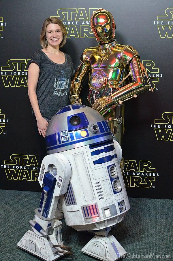 R2D2 C3PO Star Wars Press Conference