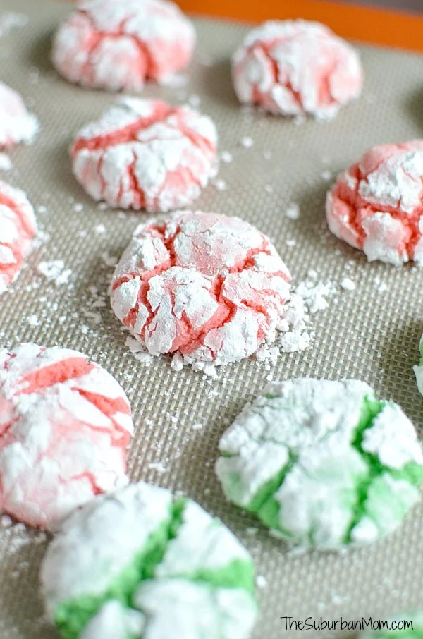 Red Green Christmas Cookies