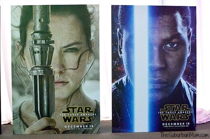 Rey Finn Star Wars The Force Awakens