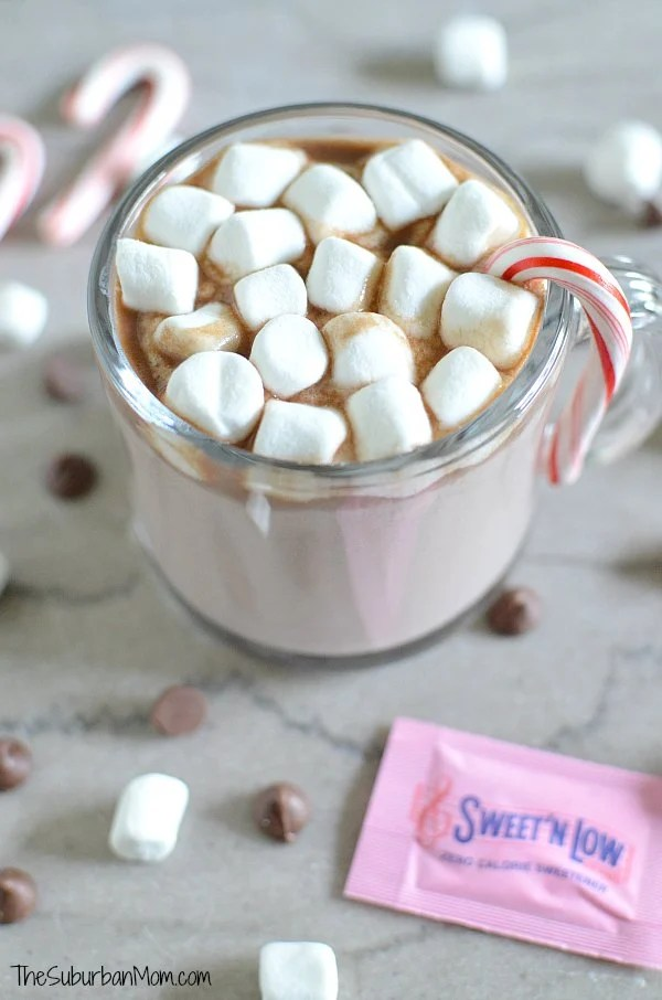 Sweet N Low Peppermint Hot Chocolate