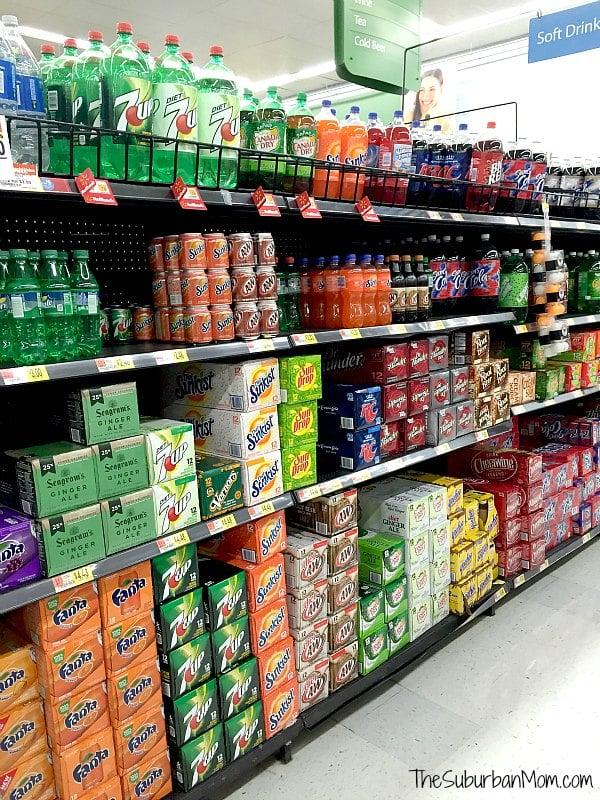 Walmart Soda Rollback