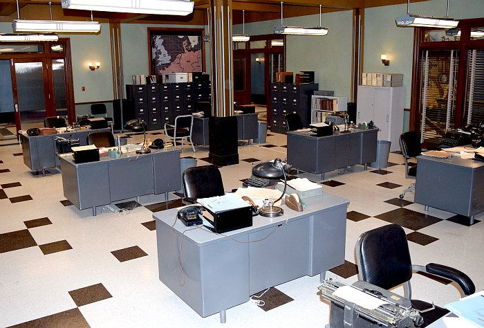 Agent Carter California SSR Office