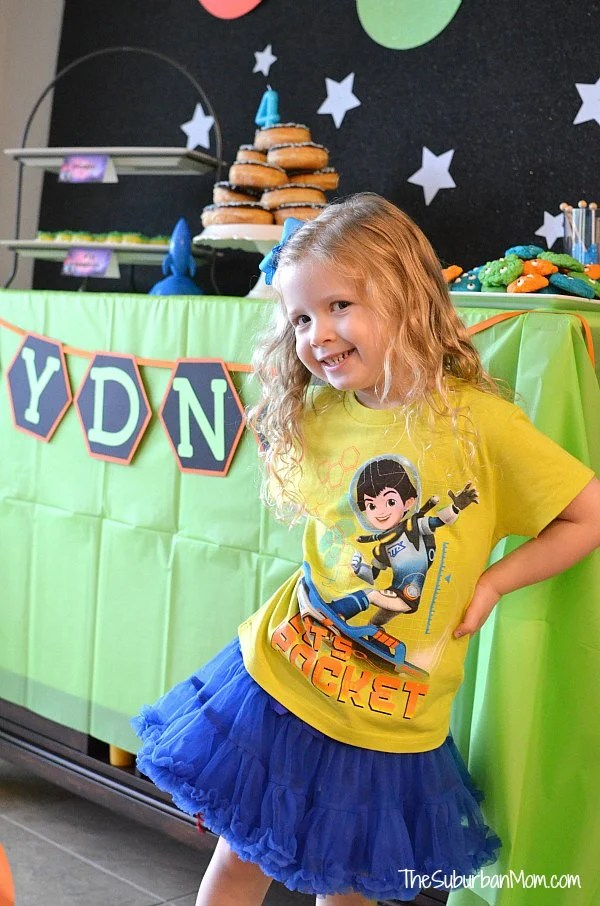 Miles From Tomorrowland Birthday Party Girl