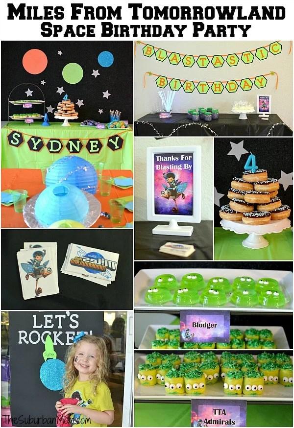 Miles From Tomorrowland Birthday Party Ideas