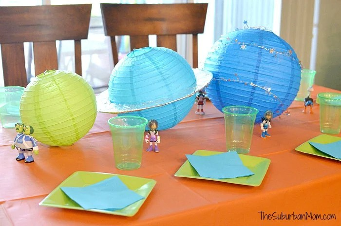 Miles From Tomorrowland Party Decorations