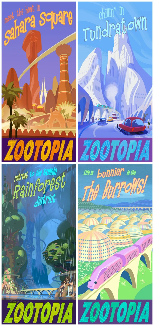 Zootopia Posters