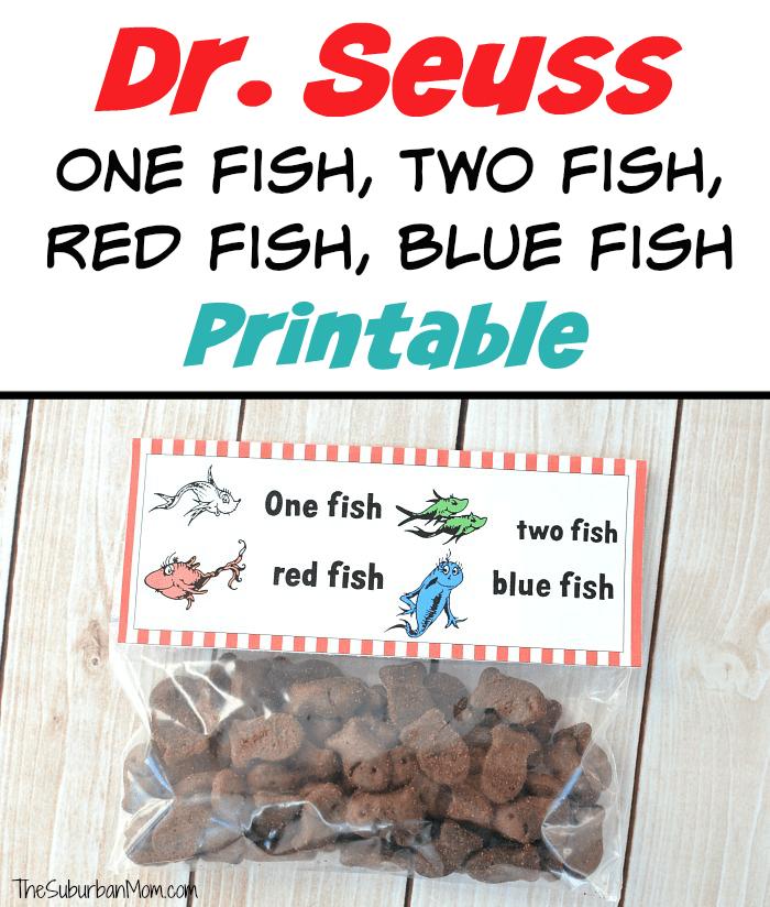 photo relating to Dr.seuss Fish Printable named Dr. Seuss A person Fish, 2 Fish, Crimson Fish, Blue Fish Printables