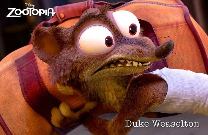 Zootopia Duke Weaselton