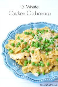 15-Minute Chicken Carbonara