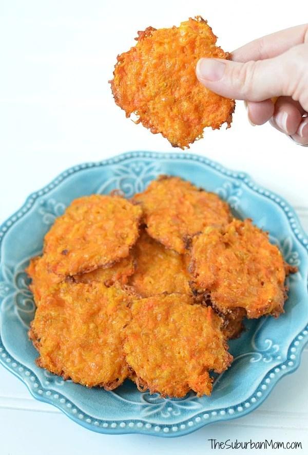 Cheesy Carrot Snacks