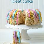 Easter Rice Krispies Treat Cake