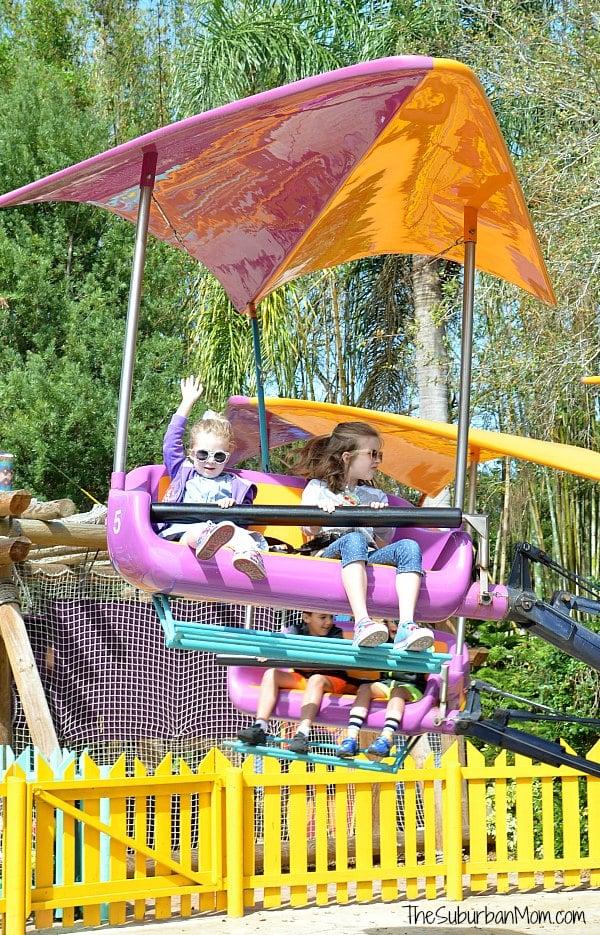 Busch Gardens Gwazi Gliders