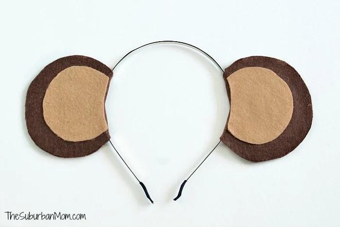 Monkey Ears Costume