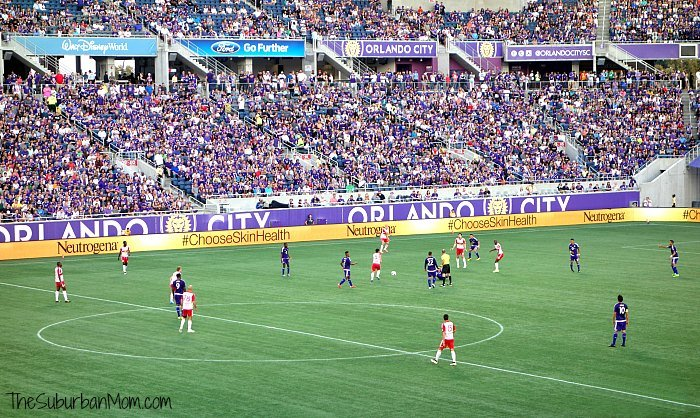 Orlando City Soccer Game