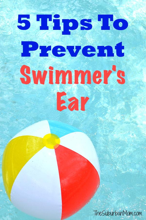 5 Tips To Prevent Swimmer's Ear