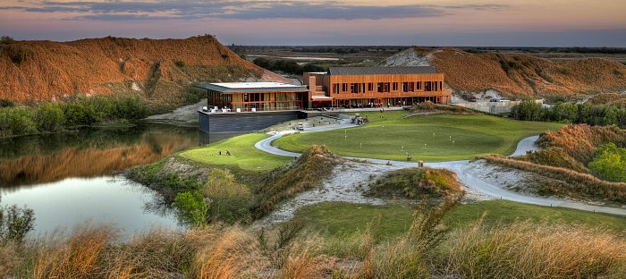 Streamsong Clubhouse