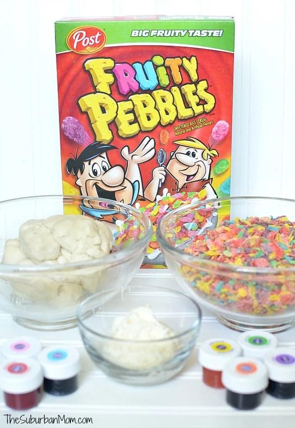 Fruity Pebbles Cookies Ingredients
