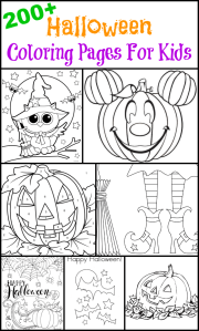 200 Halloween Coloring Pages For Kids
