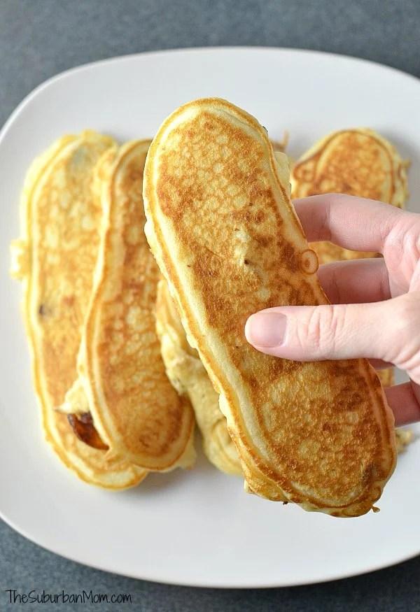 Bacon Pancake Strips