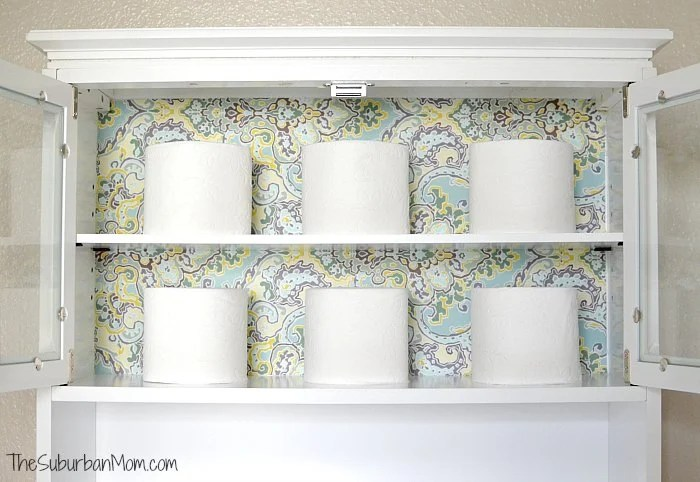 Fabric Cabinet Lining