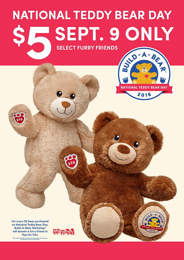 National Teddy Bear Build A Bear