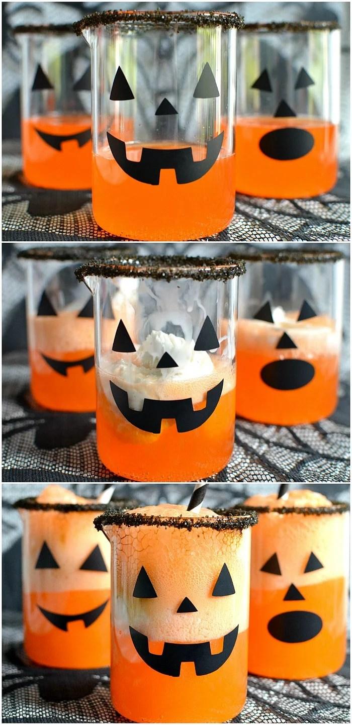 Halloween Pumpkin Punch Recipe