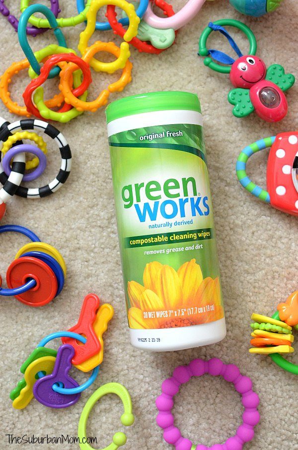 Clean Baby Toys With Green Works