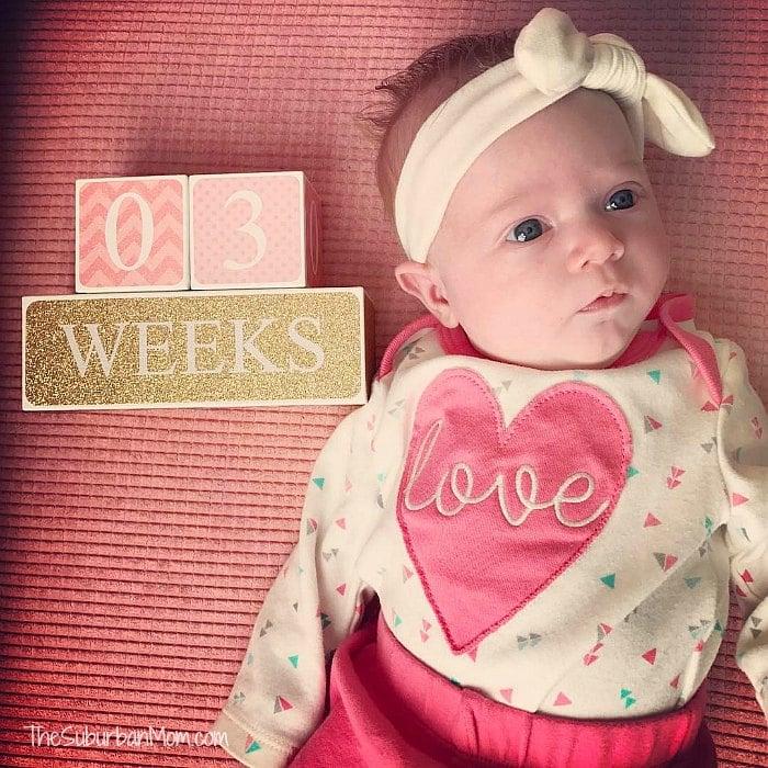 3 Week Old Baby