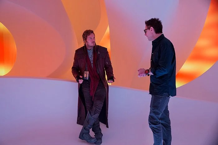 Guardians of the Galaxy Vol 2 Chris Pratt James Gunn