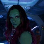 Guardians of the Galaxy Vol 2 Gamora
