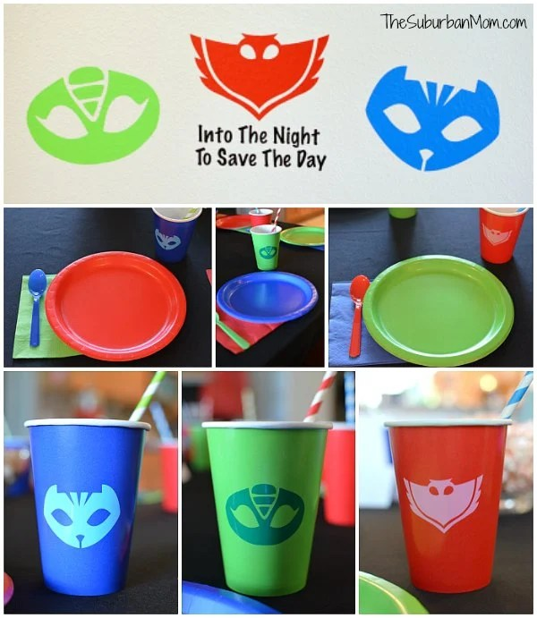 graphic relating to Pj Mask Printable Template identify PJ Masks Birthday Get together Recommendations And Cost-free Printables - The