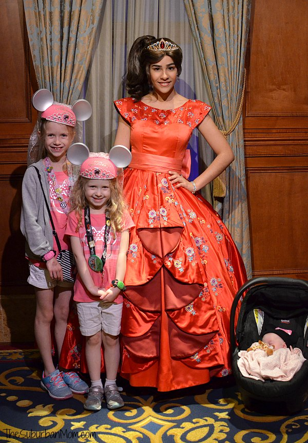Meet Princess Elena Disney World