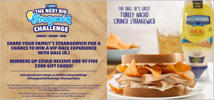 #Strangewich Challenge