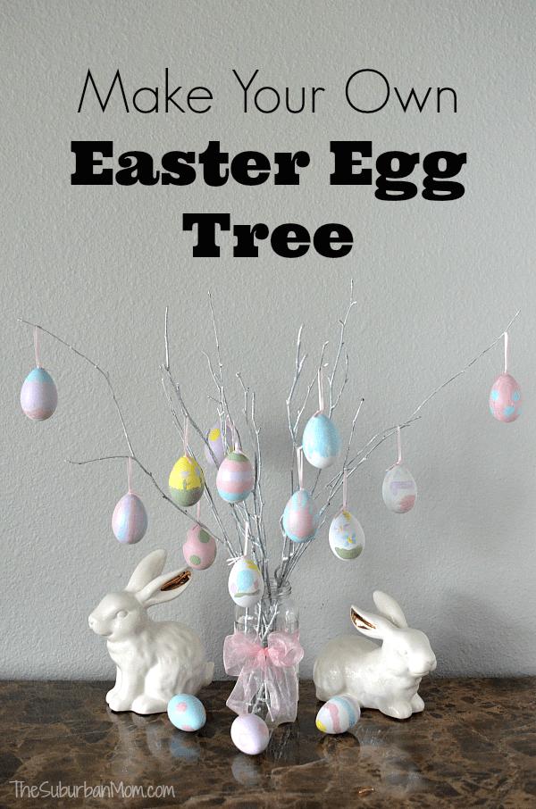 Make Easter Egg Tree