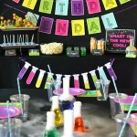 Science Birthday Party Ideas – Printables, Food, Experiments & More