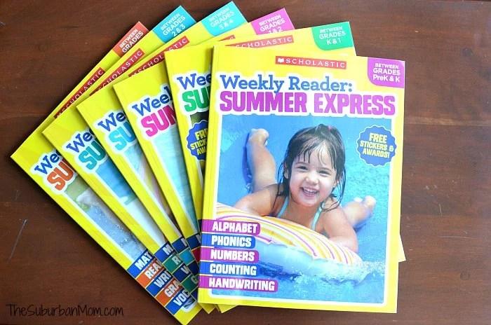 Scholastic Summer Express Workbooks