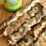 Sunkist Lemonade Chicken Kabobs