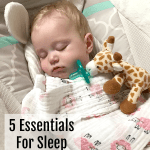 5 Baby Bedtime Essentials