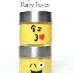 Emoji Slime Party Favor