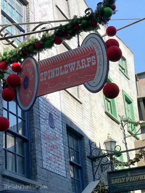 Wizarding World of Harry Potter Christmas Decorations