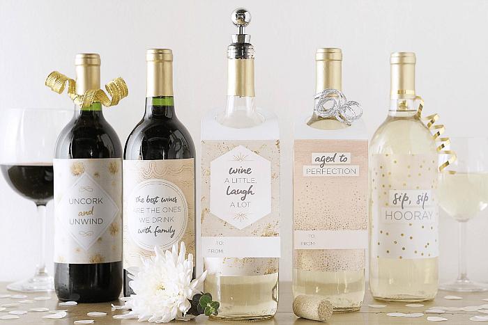 Printable Wine Tags