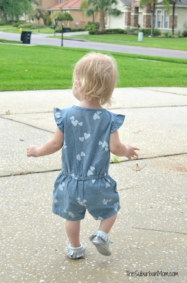Carter's Heart Romper
