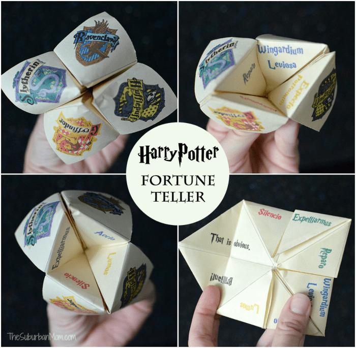 Harry Potter Fortune Teller Printable