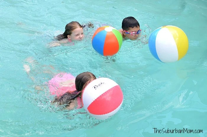 20 Pool Games For Kids - The Suburban Mom