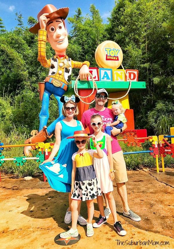 Family Toy Story Costumes DIY Disney Bounding