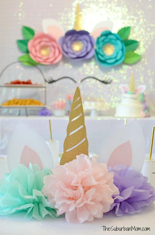 Unicorn Birthday Party Ideas Food Decorations Printables The